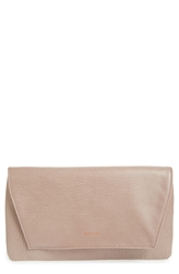 Matt And Nat 'Daisy' Vegan Leather Clutch Champagne