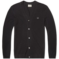 Acne Studios Dasher Face Cardigan Black