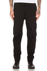 Wings Horns Washed Terry Field Pant Black