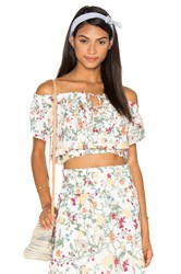 Somedays Lovin Sunny May Off The Shoulder Top White