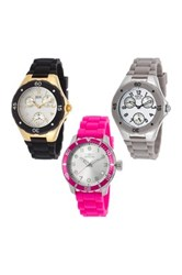 Invicta Women's Special Edition Couture Multi Function Watches Set Of 3 No Color