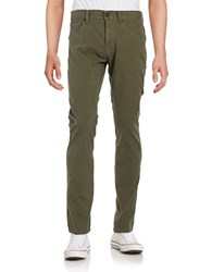 Miscellaneous Slim Fitting Jeans Olive