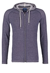 Tom Tailor Tracksuit Top Knitted Navy Dark Blue