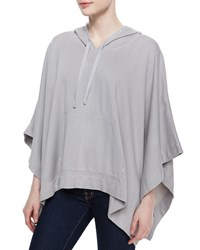 Soft Joie Olga Hooded Knit Poncho Dophin Grey