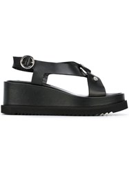 Mcq By Alexander Mcqueen Roman Harness Sandals Black