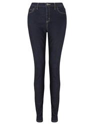Collection Weekend By John Lewis High Waisted Jeans Indigo