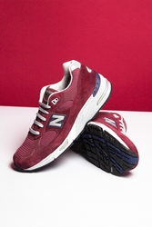 New Balance M991 Running Shoes Oxford Pigskin Mesh