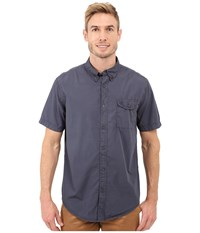 Timberland Allendale River Saltscrub Poplin Shirt Dark Sapphire Men's Clothing Blue