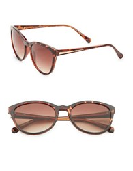 Vince Camuto 50Mm Cat's Eye Sunglasses Brown