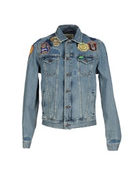 Scotch And Soda Denim Outerwear Blue