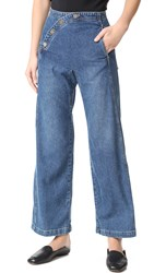 Rachel Comey Sailor Bishop Jeans Classic Indigo