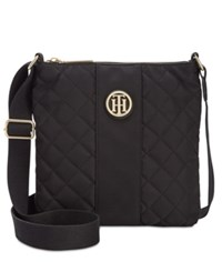 Tommy Hilfiger Isla Quilted Crossbody Black