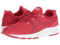 Onitsuka Tiger By Asics Gel Kayano Trainer Evo Red Red Athletic Shoes