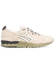 Asics Lace Up Sneakers Nude Neutrals