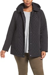 Calvin Klein Plus Size Women's Water Resistant Diamond Quilted Jacket