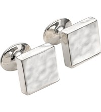 Monica Vinader Sterling Silver Square Cufflinks