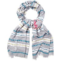 White Stuff Spring Eagle Aztec Scarf Multi