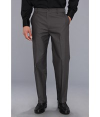 Dockers Signature Khaki D3 Classic Fit Flat Front Smith Steelhead Men's Casual Pants Black