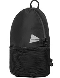 And Wander Black Aw Aa990 20L Daypack