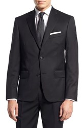 Men's Nordstrom Men's Shop Classic Fit Wool Blazer Black