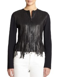 Elie Tahari Cleary Jacket Black