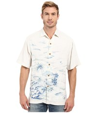 Tommy Bahama La Vie Island Woven Shirt Continental Men's Clothing White