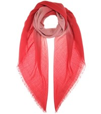 Bottega Veneta Wool Scarf Red