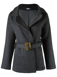 Lygia And Nanny Belted Trench Coat Grey