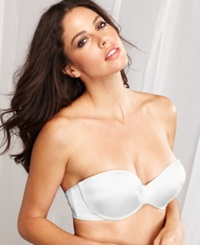 Maidenform Smooth Extra Coverage Strapless Bra 9472 White