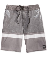 Rusty Nitrous Boardshorts Pewter