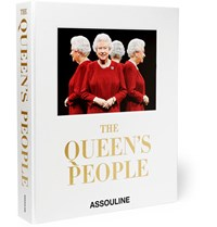 Assouline The Queen's People Hardcover Book Red