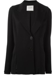 Lanvin Two Button Blazer Black