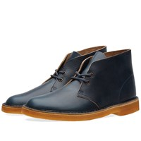 Clarks Originals X Horween Leather Co. Desert Boot Blue