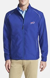 Men's Big And Tall Cutter And Buck 'Buffalo Bills Beacon' Weathertec Wind And Water Resistant Jacket