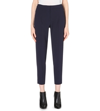 Sportmax Scrigno Cropped Tapered Trousers Midnight Blue