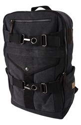 Men's A. Kurtz 'Cypress' Canvas Backpack Black