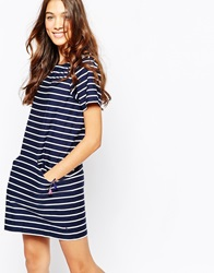 Jack Wills Striped Tshirt Dress Multi
