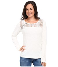 Ariat Holly Top Whisper White Women's Clothing