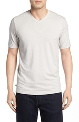 Travis Mathew Men's 'Trumbull' Trim Fit Slubbed T Shirt Lunar Rock