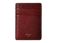 Bosca Washed Collection Deluxe Front Pocket Wallet Dark Brown Credit Card Wallet