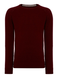 Criminal Ennis Crew Neck Jumper Wine