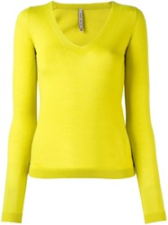 Antonio Marras V Neck Jumper Green