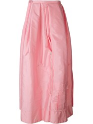 Caitlin Price Cut Out Zip Skirt Pink And Purple