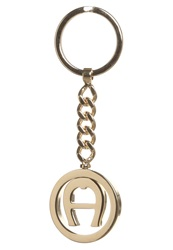 Aigner Iconic Keyring Goldcoloured
