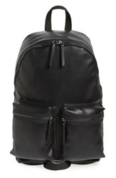 Topman Men's Faux Leather Backpack