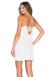 Cami Nyc The Back Lace Dress White
