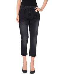 Met And Friends Trousers 3 4 Length Trousers Women Steel Grey