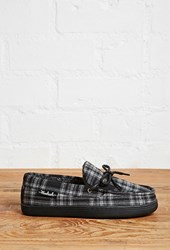 Forever 21 Woolrich Moccasin Slippers Charcoal