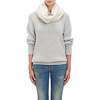 The Elder Statesman Women's Itsa Neck Warmer White