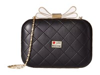 Love Moschino Mini Evening Bag W Bow Crossbody Black Cross Body Handbags